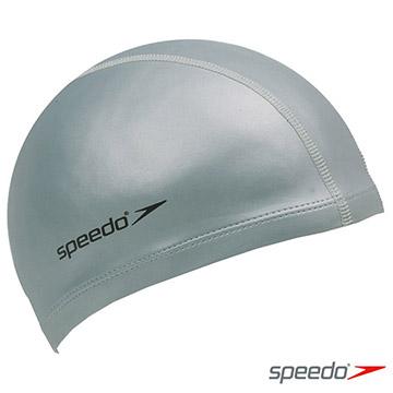 SPEEDO 成人 合成泳帽 Ultra Pace 銀