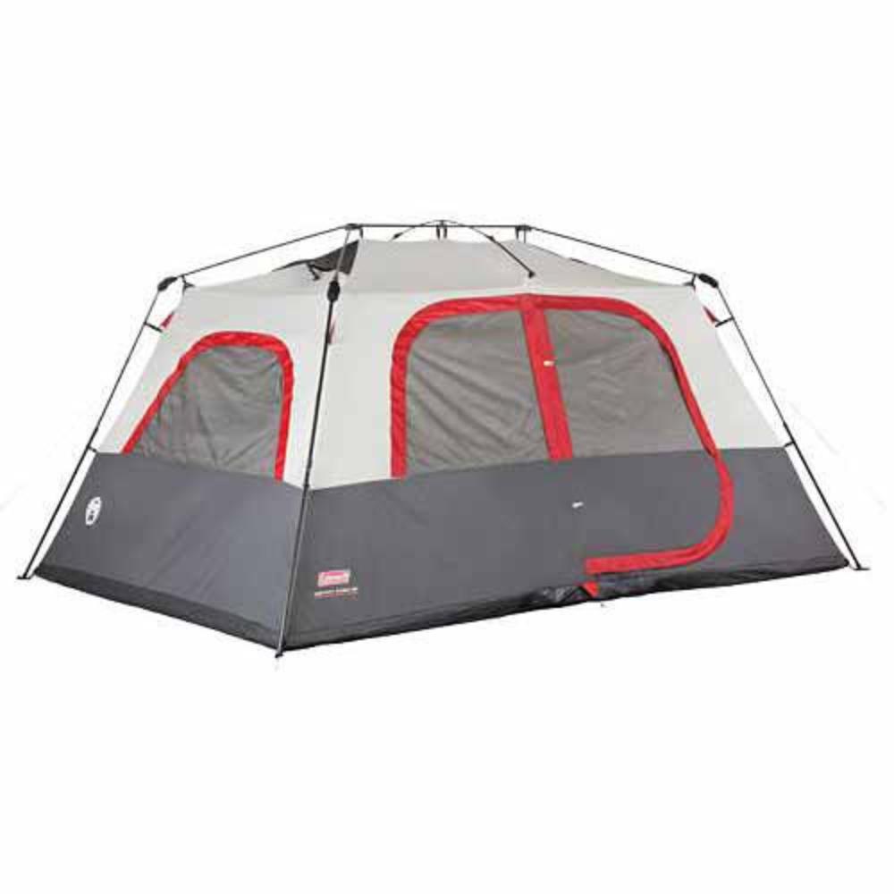 【美國 Coleman】8-Person Double Hub Instant Tent 八人帳篷 登山 雙窗 透氣 防雨 (庫存福利品)