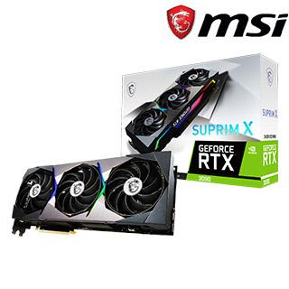 微星 GeForce RTX3090 SUPRIM X 24G 顯示卡+MPG Z590 GAMING PLUS