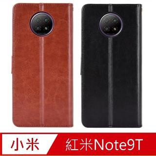 PKG For:紅米Note9T(5G)皮套-側翻皮套-經典款式