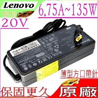 LENOVO 變壓器(原裝)-IBM 充電器-20V 6.75A,135W,Z710,Y40,Y50,Y70,Y700-14isk,Y40-70,Y50-70,G50-70,700-15isk,700-17isk,Y700-15isk,T440P-20AN,T440P-20AW, T440P 20AW, T440P 20AN,W550S,T540P, T540P 20BF,E560P,T470P,T570P,Y520,Z710